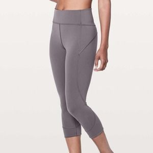Lululemon In Movement Crop Everlux Moonphase